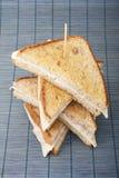 Empilement des sandwichs Image libre de droits