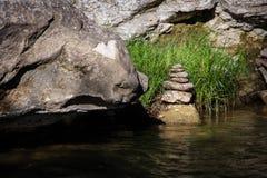 Empilhamento da rocha Foto de Stock Royalty Free