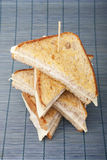 Empilhando sanduíches Imagem de Stock Royalty Free