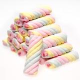 Empilhe o marshmallow espiral Foto de Stock