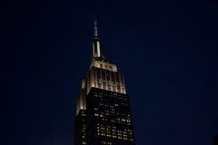Empir stan Buduje, Nowy Jork Obraz Royalty Free