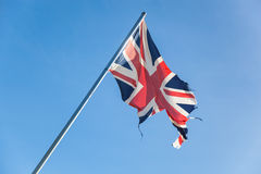 Empire Britannique cassé Image stock