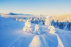 Empire d'hiver de la reine de neige l'endroit de repos le plus extrême pour Image stock