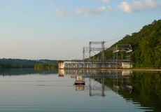 Empire Dam lake view in southwest Missouri Royalty Free Stock Image