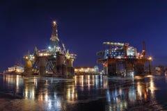 Empire de pétrole Photos stock