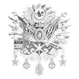 Empire de tabouret illustration libre de droits