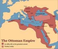 Empire de tabouret Turquie illustration stock