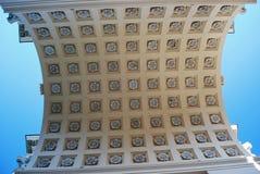 Empire decorative vault Royalty Free Stock Photo