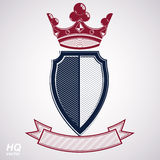 Empire design element. Heraldic royal coronet illustration - imp Stock Photography