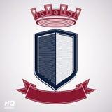 Empire design element. Heraldic royal coronet illustration - imp Stock Image