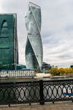 The `Empire` and the `Evolution` towers of the Moscow International Business Centre MIBC. Russia. The Moscow International Business Centre MIBC, also known as Royalty Free Stock Photos