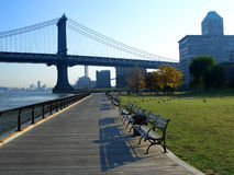 Empire-Fulton Ferry State Park Stock Images