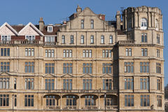 Empire Hotel. Victorian era building in Bath Somerset, England. Originally built as a hotel, but now converted to apartments Stock Photography