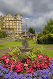 Empire Hotel in Bath, Somerset, England. BATH, ENGLAND - JULY 28: the Empire Hotel, by architect Major Charles Edward Davis for the hotelier Alfred Holland  on Stock Images