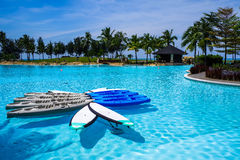 The Empire Hotel & Country Club, Brunei stock photo