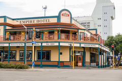 Empire Hotel New Zealand Stock Images