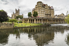 The Empire Hotel on River Avon Royalty Free Stock Photo