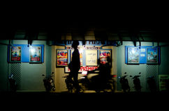 Empire Movie Theatre in Rarotonga Cook Islands Royalty Free Stock Photos
