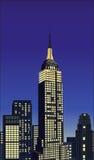 Empire State stock de ilustración