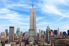 Empire State Building à New York Photographie stock libre de droits