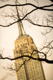 Empire state Building. Midtown Manhattan, New York City, USA Royalty Free Stock Image