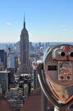 Empire State Building. NEW YORK CITY - SEPTEMBER 5: The Empire State Building on September 5, 2010 in New York, NY. The Empire State Building is a 102-story Stock Image