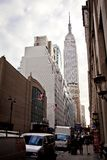 Empire State Building and 34th street Royalty Free Stock Photography
