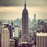 Empire State Building Photos libres de droits