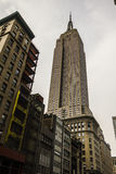 Empire State Building from below Royalty Free Stock Photography