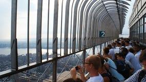 Empire State Building-Beobachtungs-Plattform Lizenzfreies Stockfoto