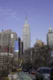 Empire State Building from Broadway - New York City Stock Photos