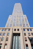 Empire State Building Close Up Royalty Free Stock Photography