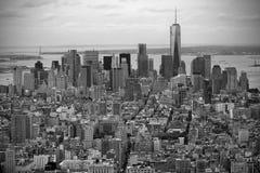 Empire State Building da paisagem, New York Fotos de Stock Royalty Free