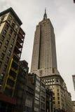 Empire State Building da sotto Fotografia Stock Libera da Diritti