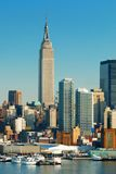 Empire State Building de New York City Images stock