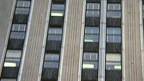 Empire State Building de vintage banque de vidéos