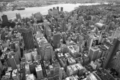 Empire State Building del paisaje, Nueva York Imagenes de archivo