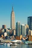 Empire State Building di New York City Immagini Stock