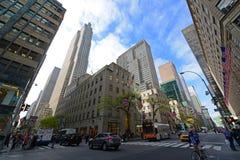 Empire State Building e Herald Towers, NYC Fotos de Stock
