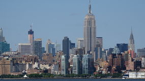Empire State Building e Midtown Manhattan Nyc Imagem de Stock