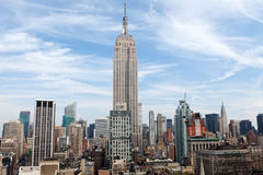 Empire State Building em New York Foto de Stock
