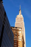 Empire State Building em New York City Manhatta Imagem de Stock