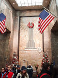 Empire State Building entrance hall Stock Photography