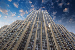 Empire state building facade Royalty Free Stock Photography