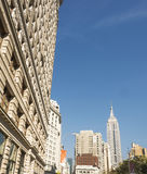 Empire State Building and Flatiron Building Stock Image