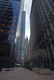 Empire State Building gelegen in Midtown Manhattan Lizenzfreies Stockbild