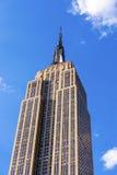Empire State Building i New York City Arkivbilder