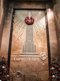 Empire State Building interior Royalty Free Stock Photography