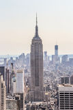 Empire State Building with its surrounding Stock Images