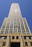 Empire State Building low angle view Royalty Free Stock Photography